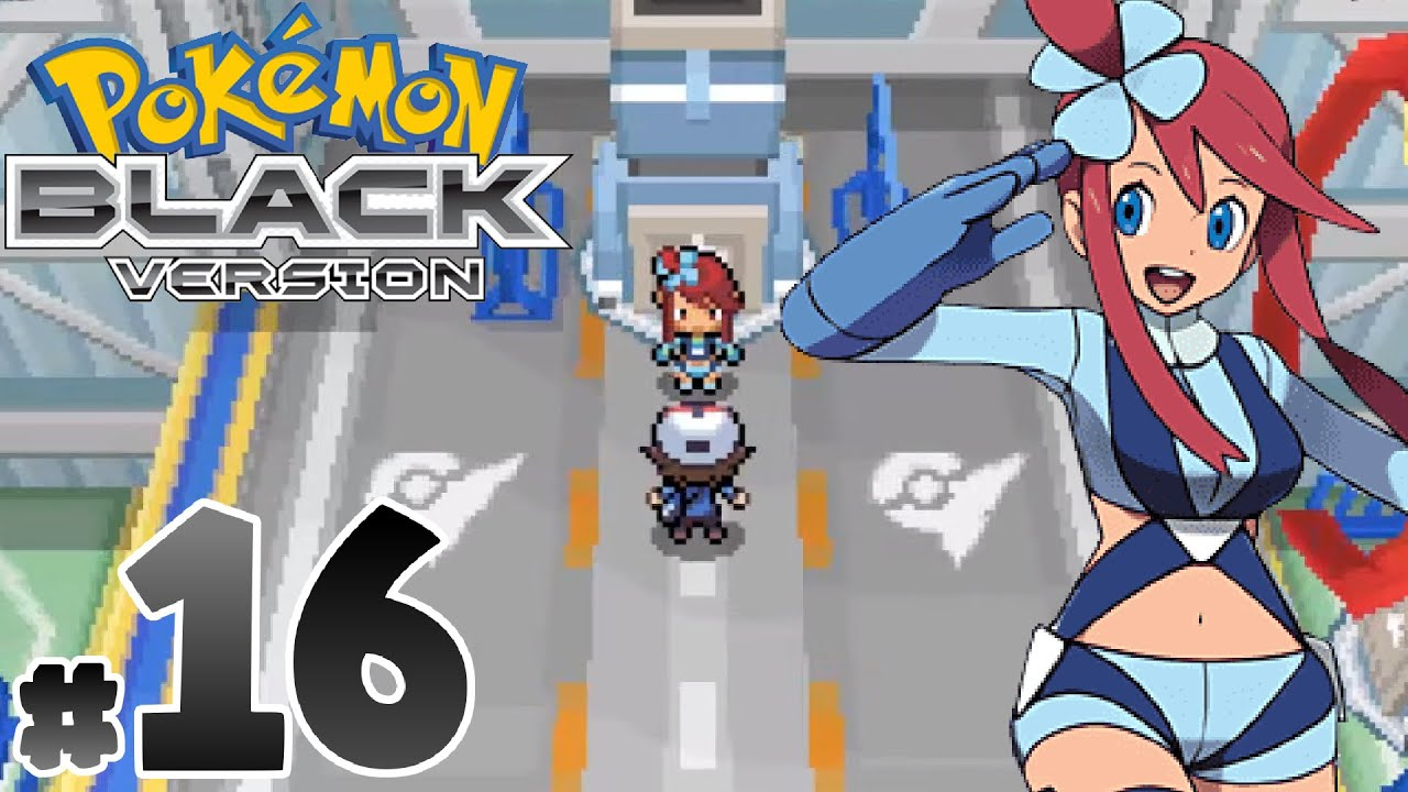 Pokemon: Black - Tam Çözüm#16 : Mistralton Salon Lideri Skyla