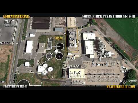 Geoengineering: Omega Block - Texas Flood