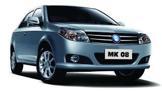 Geely MK I Sedan рестайлинг 2013 седан