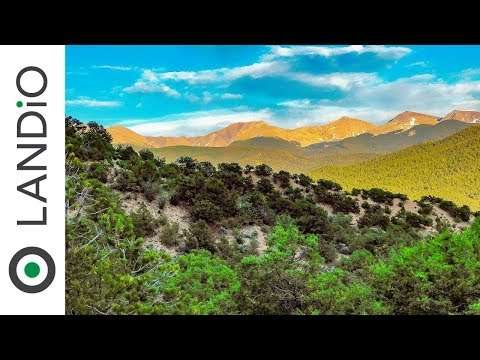 Land For Sale : 5 Wooded Acres with Amazing Mountain Views in Southern Colorado