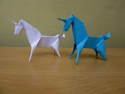 How To Make A Paper Unicorn Easy Tutorials Youtube