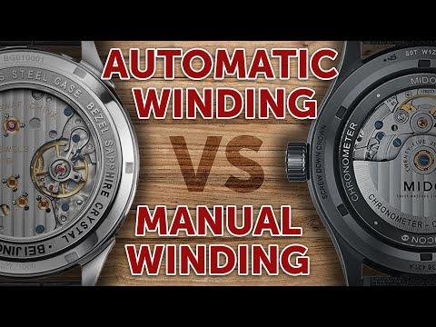 Perbedaan Automatic Dan Manual Winding Pada Jam Tangan