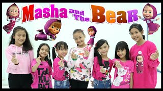 Download lagu Dance Masha And The Bear Tik Tok Viral - Permainan Tradisional Indonesia - Takupaz Kids in Action