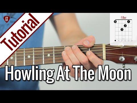 Milow - Howling At The Moon | Gitarren Tutorial Deutsch