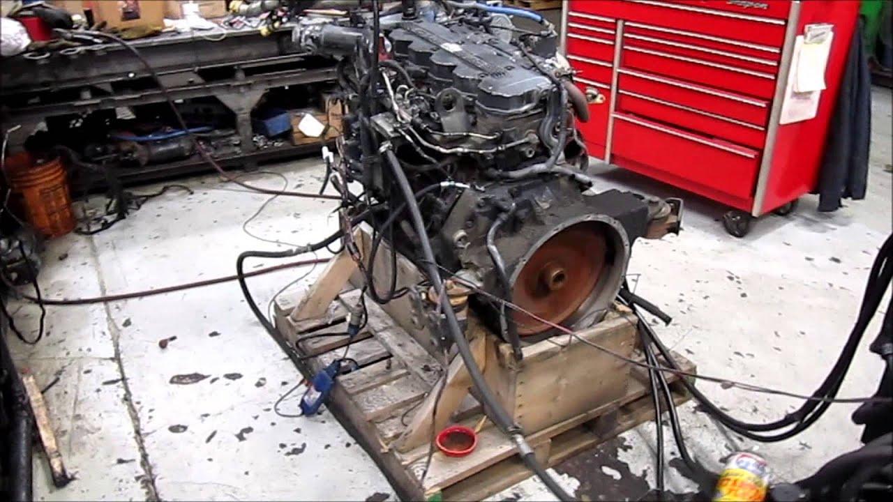 Cummins Diesel Engines >> 2005 Cummins ISB 5.9L Common Rail Diesel - YouTube