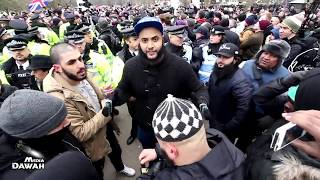 Violence Erupts with Tommy Robinson's Supporters