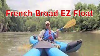 Hot Springs NC French Broad River Kayak Trip