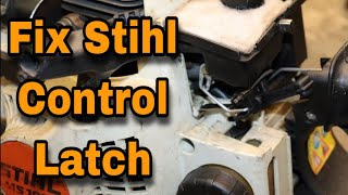 how-to-fix-the-main-control-latch-on-a-stihl-chainsaw-with-taryl
