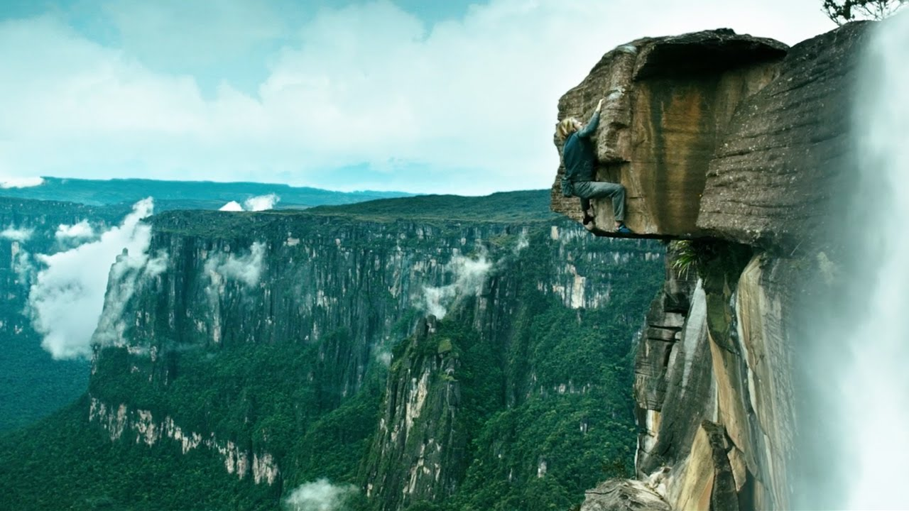 Angel Falls Venezuela Wallpaper Point Break Rock Climbing Featurette Hd Youtube