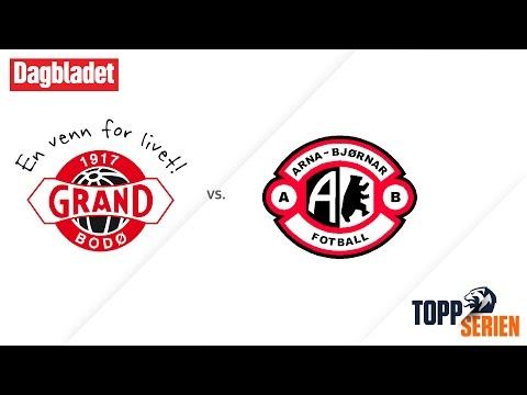 Grand Bodø - Arna-Bjørnar. Toppserien 2017, 1. runde
