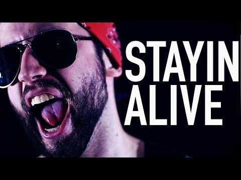 'Stayin' Alive' - POWER METAL (Bee Gees cover version by Jonathan Young)