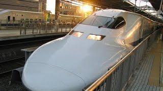 Япония. Синкансен. Поездка на скором поезде до Сидзуоки.