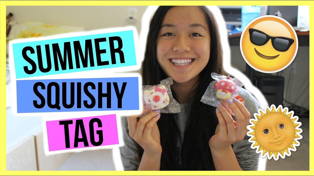 Summer Squishy Tag : Summer Squishy Tag! Cyndercake415 - YouTube
