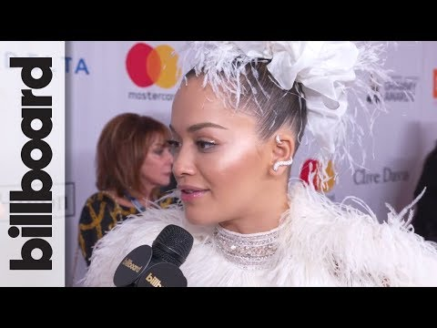 Rita Ora Talks Collaborating With Liam Payne, New Music at Clive Davis' Pre-Grammy Gala | Billboard