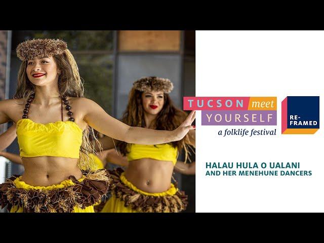 Halau Hula O Ualani and her Menehune Dancers