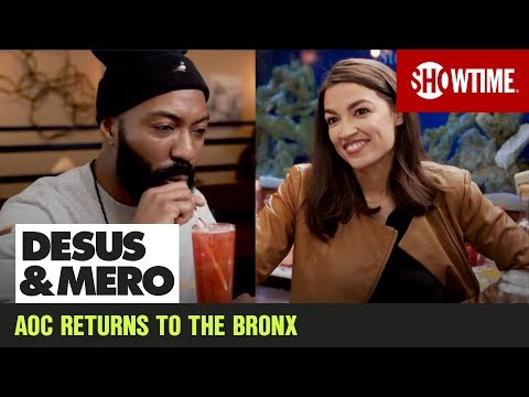 AOC Goes Back To Bartending In The Bronx | DESUS & MERO | SHOWTIME