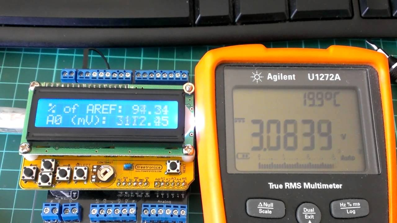 Demonstrating the arduino s external aref pin youtube