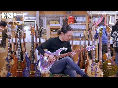 ESP Guitars: 2018 ESP Exhibition Limited EX18-12 FRX-CTM NT [4K]