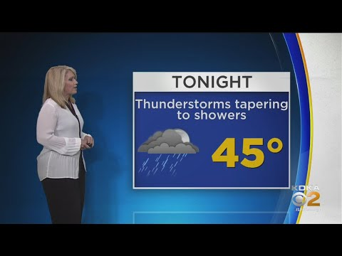 KDKA-TV Weekend Forecast (4/20)