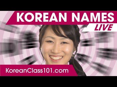 How to Write Names in Korean?   Learn Korean