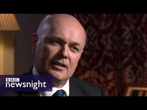Iain Duncan Smith on why he backs Brexit – BBC Newsnight