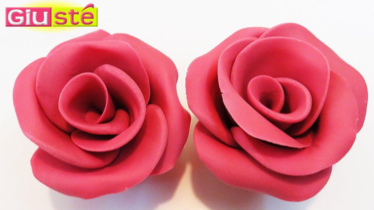 astuce pour creer des roses en pate a sucre sans moules tutoriel