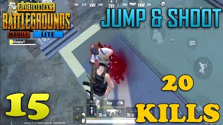 Jump & Shoot! | Solo Vs Squad | PUBG Mobile Lite Android Gameplay HD