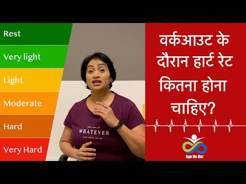 Heart Rate Zones in Hindi | Calculating Heart Rate Zone| Heart Rate & Exercise Relationship