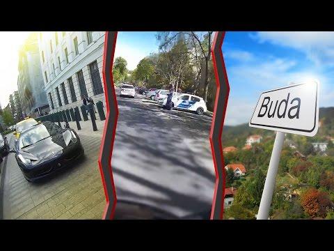 Ferrari, trafipax és a budai hegyek