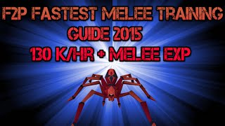 Runescape F2p Fastest Melee Training Guide 2015