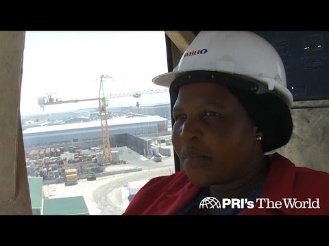 Rising above the odds, this black South African woman has found her calling operating a crane on YouTube