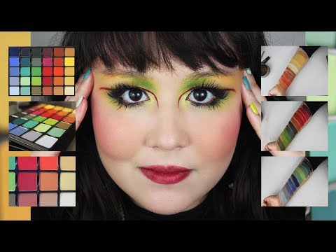 VISEART GRANDE PRO 3 Brush & Finger Swatches | 1st Tutorial | Jessica Lee Rojas Kent thumbnail