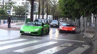[PBSS`17] Puerto Banus Supercars Spotting 8 ( Aventador 50th, Huracán Spyder, F12´s...)