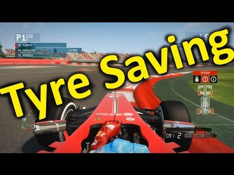 F1 2013 Gameplay: How to Save Your Tyres!