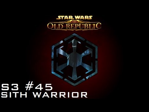 Star Wars: The Old Republic - SITH WARRIOR [Level 55] - S3 Episode 45: The Shroud's Last Stand