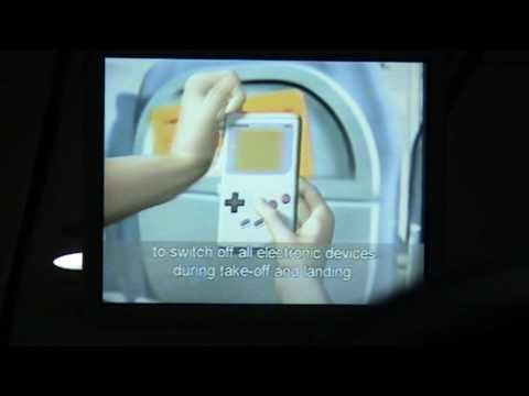 Safety Intructions Video Air Berlin Airbus A319-112