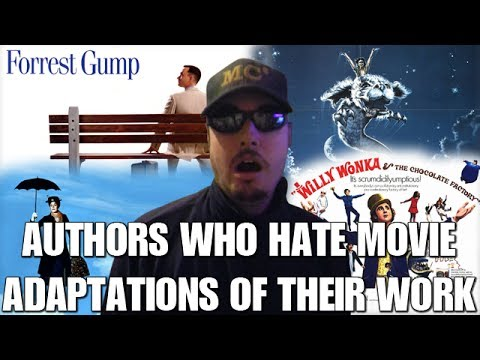 Authors Who Hate Movie Adaptations of Their Works
