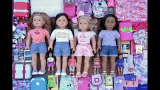 Baby Doll Packing For American Girl Doll Sleepover!