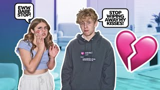 WIPING OFF MY BOYFRIENDS KISSES TO SEE HIS REACTION **HE LEFT ME**💋🚫| Piper Rockelle