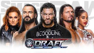WWE Draft 2021 Booked