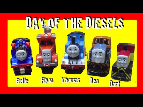 Day of the Diesels! Toy  & Competition! Take'n'Play Thomas & Friends