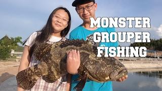 Video MONSTER GROUPER FISHING| BARELANG FISHING download MP3, 3GP, MP4, WEBM, AVI, FLV Agustus 2018
