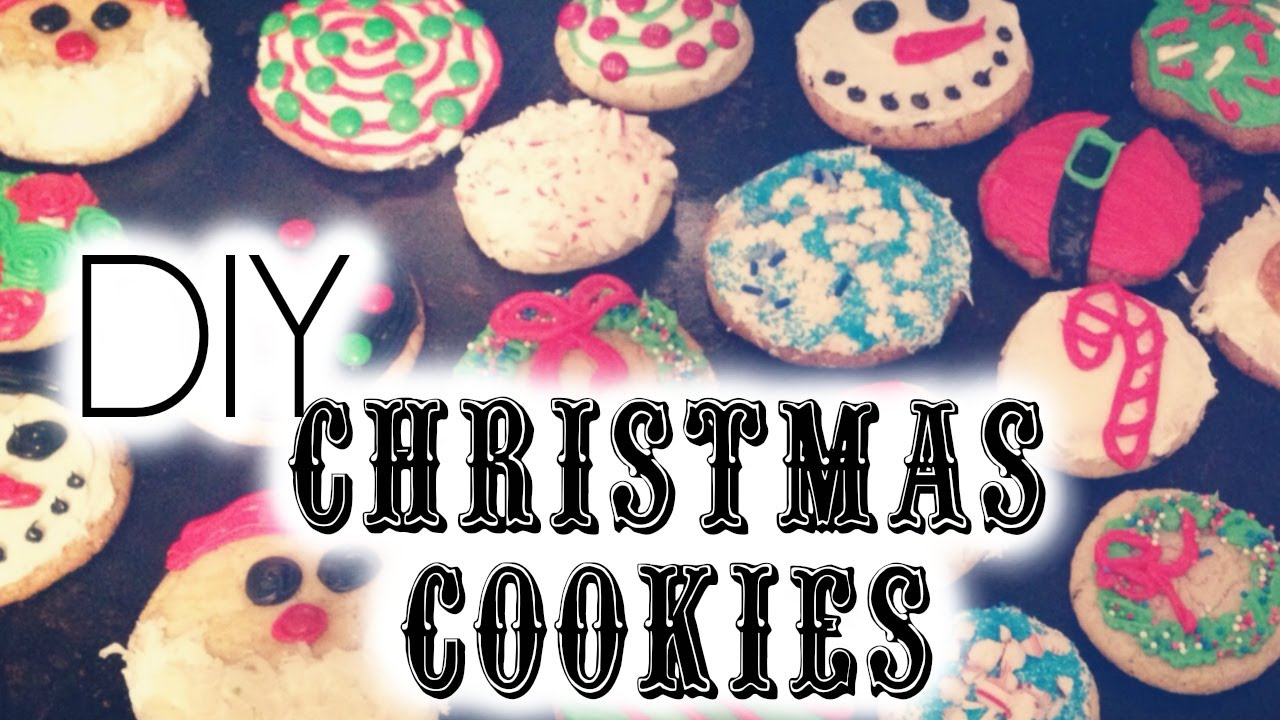 diy christmas cookie decorating ideas youtube - Christmas Cookie Decorating Tips
