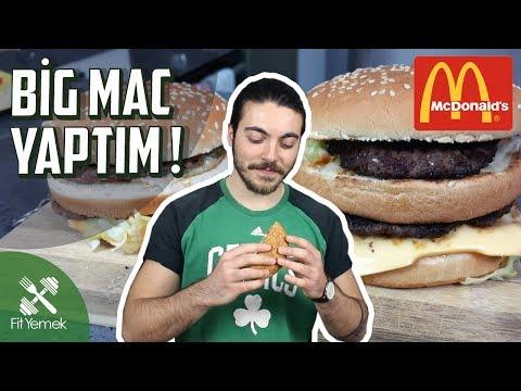 BIG MAC YAPTIM! - McDonald's VS FitYemek