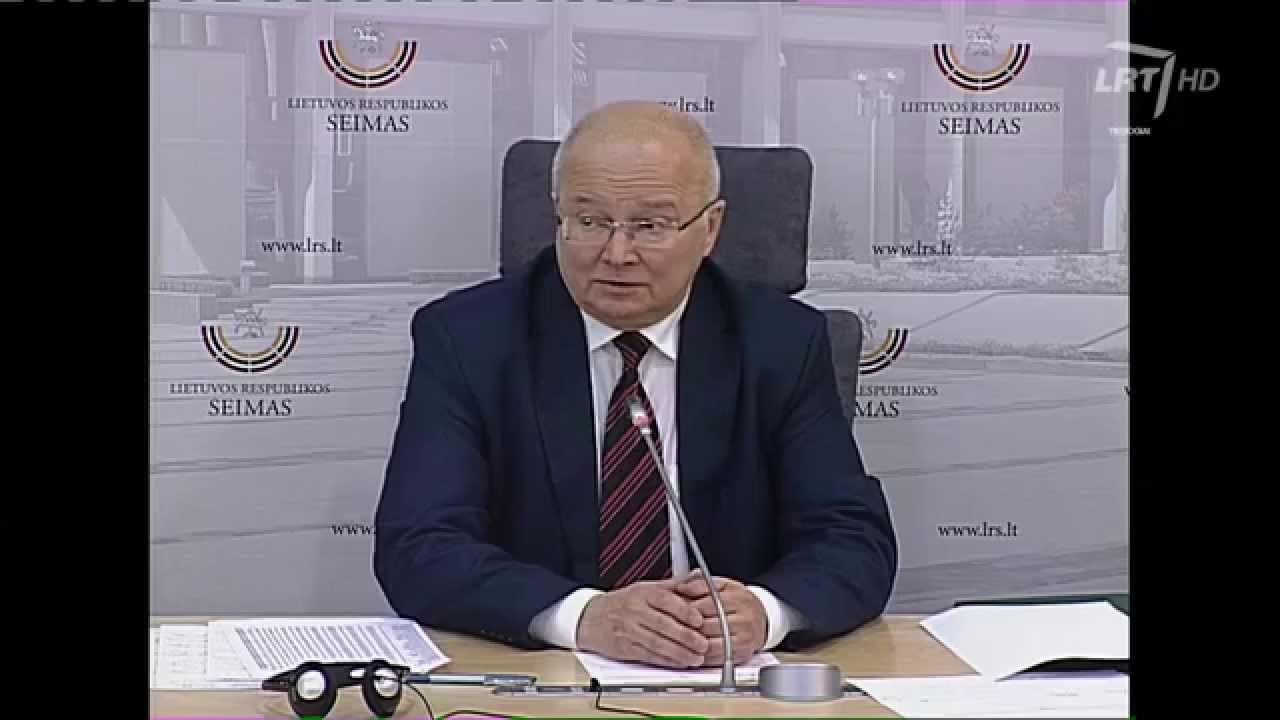 Vyriausiosios rinkimų komisijos spaudos konferencija dėl LR Prezidento  rinkimų (pirmasis turas)
