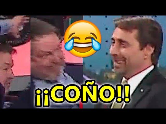 La aparatosa caída de Bieito Rubido en la televisión argentina