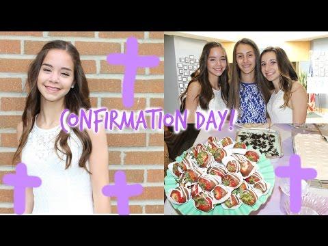 Confirmation Party! Dress, Hair, Makeup! + Updates