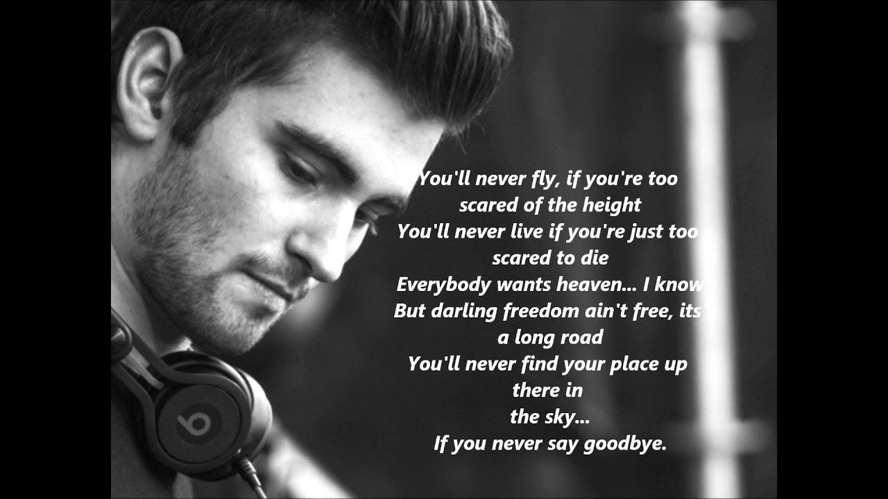 Lyrics containing the term: Say Goodbye