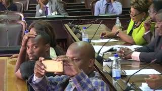 Mpofu refused to answe questions on the missing $15 billion infront of Mliswa