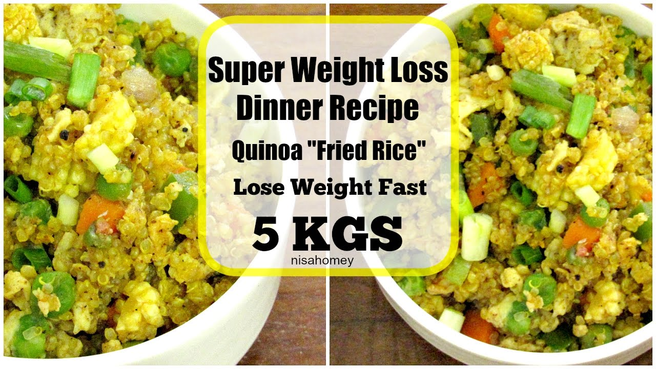 Super weight loss quinoa fried rice fat burning mealdiet plan to super weight loss quinoa fried rice fat burning mealdiet plan to lose weight fast dinner recipes youtube forumfinder Choice Image